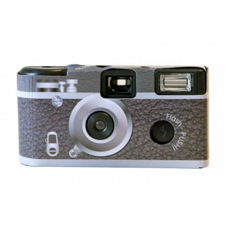 Filmu kameras - FOCUS DISPOSABLE CAMERA RETRO 24 EXP, ISO 400 - perc veikalā un ar piegādi