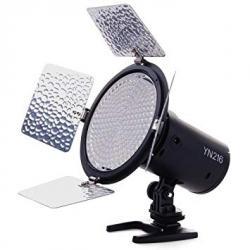 LED uz kameras - Yongnuo YN-216 LED video gaisma - perc šodien veikalā un ar piegādi