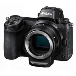 Mirrorless cameras - Nikon Z6 mirrorless camera + FTZ adapteris - buy today in store and with delivery
