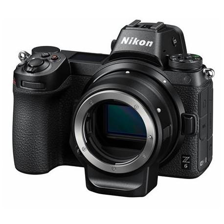 Bezspoguļa kameras - Nikon Z6 mirrorless camera + FTZ adapteris - perc šodien veikalā un ar piegādi