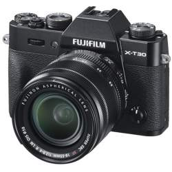 Bezspoguļa kameras - Fujifilm X-T30 18-55mm Black Kit Mirrorless Digital Camera - ātri pasūtīt no ražotāja