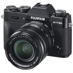 Беззеркальные камеры - Fujifilm X-T30 XF 18-55mm Black Kit Mirrorless Digital Camera - купить сегодня в магазине и с доставкой