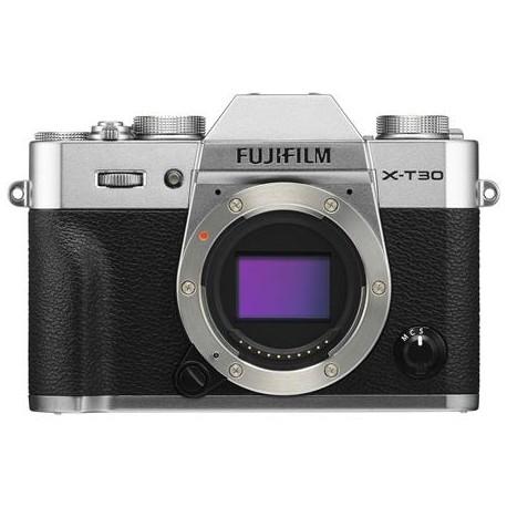 Bezspoguļa kameras - Fujifilm X-T30 15-45mm Silver Kit Mirrorless Digital Camera - ātri pasūtīt no ražotāja