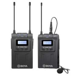 Microphones - Boya UHF Dual Lavalier Microphone Wireless BY-WM8 Pro-K1 - buy today in store and with delivery
