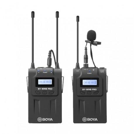 Mikrofoni - Boya UHF Lavalier Microphone Wireless BY-WM8 Pro-K1 - perc šodien veikalā un ar piegādi