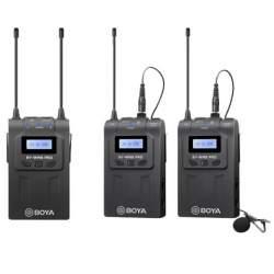 Микрофоны - Boya UHF Dual Lavalier Microphone Wireless BY-WM8 Pro-K2 - купить сегодня в магазине и с доставкой