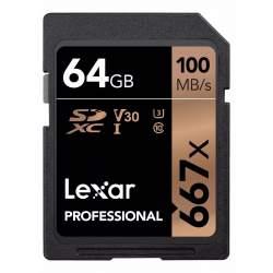 Atmiņas kartes - LEXAR PROFESSIONAL 667X SDHC/SDXC 256GB - perc šodien veikalā un ar piegādi