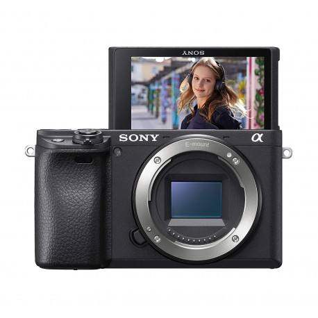 Bezspoguļa kameras - Sony A6400 16-50mm E-mount camera KIT with APS-C Sensor - ātri pasūtīt no ražotāja