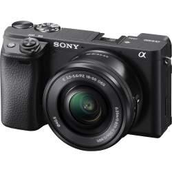 Bezspoguļa kameras - Sony A6400 16-50mm E-mount camera KIT with APS-C Sensor - perc šodien veikalā un ar piegādi