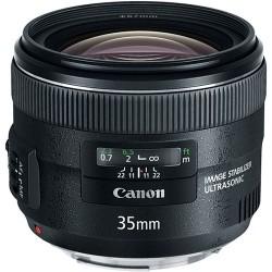 Объективы и аксессуары - Canon EF 35mm f/2 IS со стабилизатором аренда