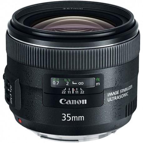 Objektīvi un aksesuāri - Canon EF 35mm f/2 IS objektīvs ar stabilizātoru noma