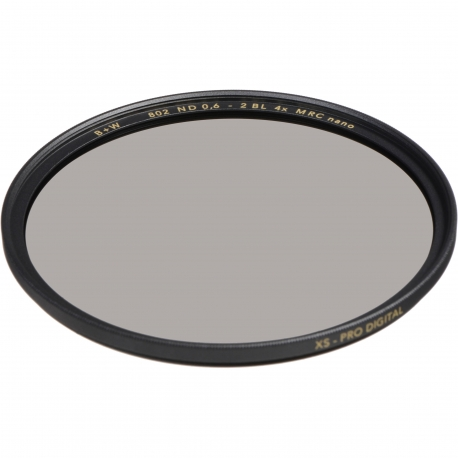 Neutral Density Filters - B+W Filter 802 ND Pro 0.6 MRC Nano XS PRO Digital 37mm - quick order from manufacturer