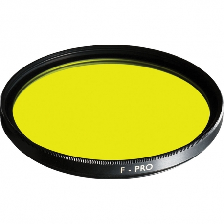 Color filters - B+W Filter F-Pro 022 Yellow filter -495- MRC 67mm - quick order from manufacturer