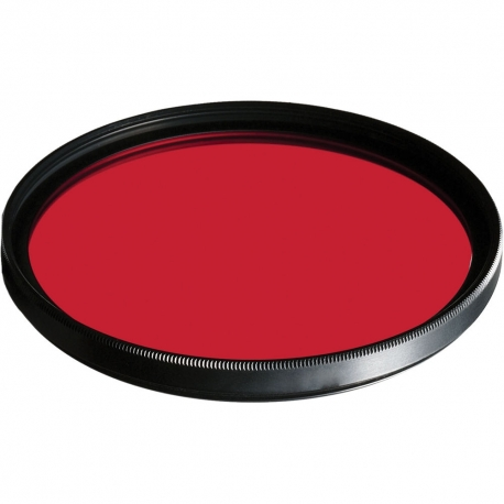Color Filters - B+W Filter F-Pro 091 Red filter -dark 630- MRC 67mm - quick order from manufacturer