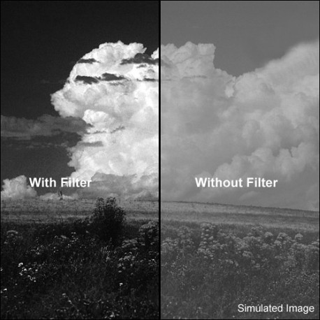 Color filters - B+W Filter F-Pro 091 Red filter -dark 630- MRC 86mm - quick order from manufacturer