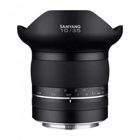 Objektīvi - SAMYANG XP 10mm f/3.5 Canon EF manual full-frame rectilinear ultra-wide angle lens - ātri pasūtīt no ražotāja