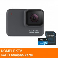 GoPro Kameras - GoPro Hero7 Silver action camera - buy today in store and with delivery