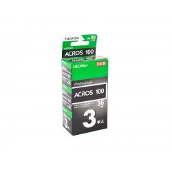 Photo films - Fuji Neopan Acros 100 35mm 36 exposures pack of three - buy today in store and with delivery