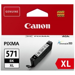 Printeri - Canon tintes kasetne CLI-571XL, melna - ātri pasūtīt no ražotāja