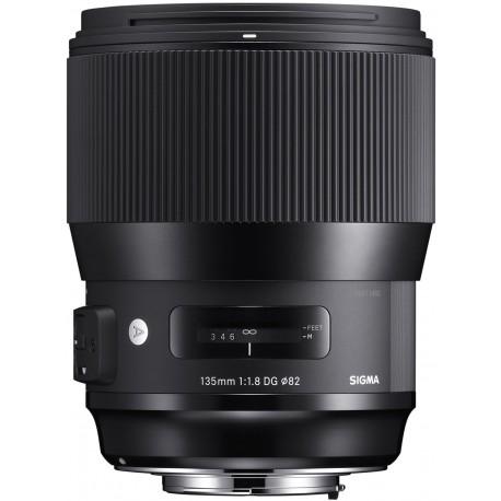 Objektīvi - Sigma 135mm F1.8 DG HSM Canon ART - ātri pasūtīt no ražotāja