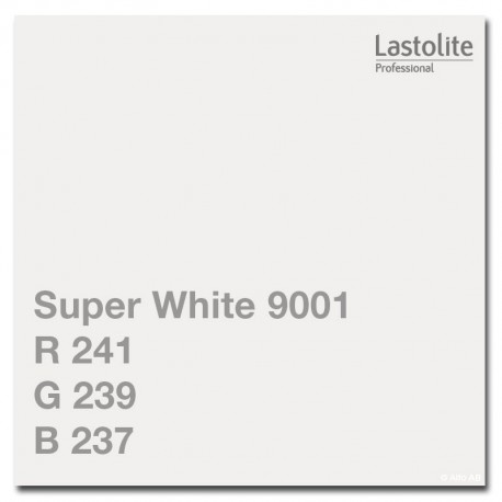 Backgrounds - Lastolite background 2.75x11m, super white (9001) - quick order from manufacturer