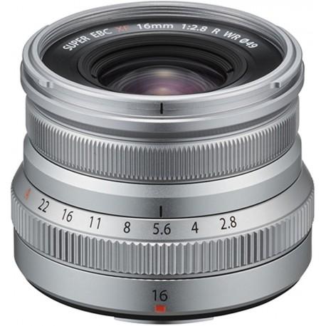 Objektīvi - Fujifilm XF 16mm f/2.8 R WR objektīvs, sudrabots - ātri pasūtīt no ražotāja