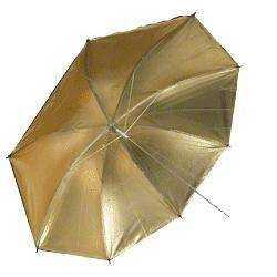 Umbrellas - walimex Reflex Umbrella gold, 84cm - buy today in store and with delivery