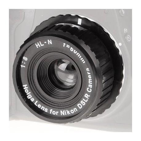 Objektīvi - BIG objektīvs Holga 60mm f/8.0 Canon (491280) - ātri pasūtīt no ražotāja