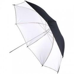 Foto lietussargi - BIG Helios lietussargs 100cm, balts/melns (428302) - ātri pasūtīt no ražotāja