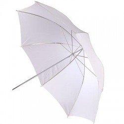 Foto lietussargi - BIG Helios lietussargs 100cm, balts/caurspīdīgs (428301) - ātri pasūtīt no ražotāja