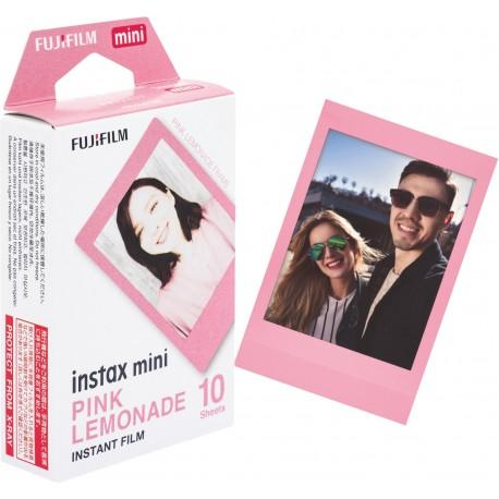 Instantkameru filmiņas - FUJIFILM Colorfilm instax mini PINK LEMONADE (10 pcs.) - perc šodien veikalā un ar piegādi