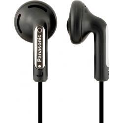 Наушники - Panasonic earphones RP-HV154E-K, black - быстрый заказ от производителя