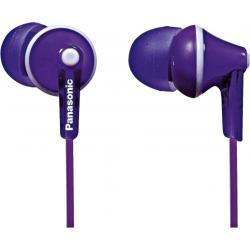 Наушники - Panasonic earphones RP-HJE125E-V, purple - быстрый заказ от производителя