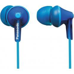 Наушники - Panasonic earphones RP-HJE125E-A, blue - быстрый заказ от производителя