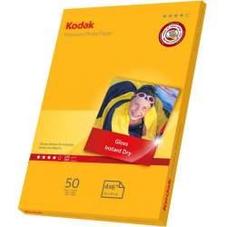 Papīrs foto izdrukām - Kodak фотобумага 10x15 240г Glossy 50 страниц - быстрый заказ от производителя