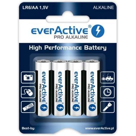 Pirkstiņu baterijas zibspuldzēm - everActive Pro Alkaline AAA LR03 1.5V 1250mAh 4gb. - perc šodien veikalā un ar piegādi