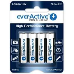 Pirkstiņu baterijas zibspuldzēm - everActive Pro Alkaline AA LR6 1.5V 2900mAh 4gb. - perc šodien veikalā un ar piegādi