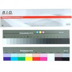 White Balance Cards - BIG greycard and color card #14 36cm (486021) - quick order from manufacturer