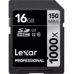Atmiņas kartes - LEXAR PRO 1000X SDHC UHS-II U3 (V60) R150/W90 32GB (V30) R150/W75 - купить сегодня в магазине и с доставкой