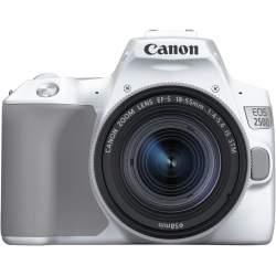 Spoguļkameras - Canon EOS 250D + 18-55mm IS STM Kit, balts - perc šodien veikalā un ar piegādi