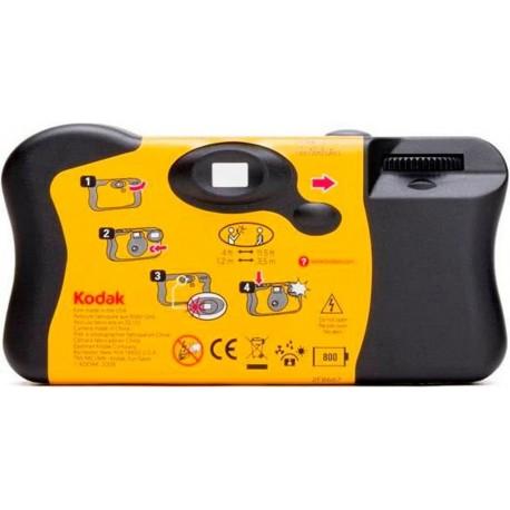 Filmu kameras - KODAK FUNSAVER 27+12 vienreizējās lietošanas fotoaparāts - perc šodien veikalā un ar piegādi