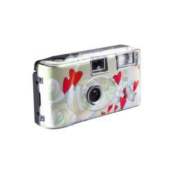 Film cameras - Single Use camera Flying Hearts 400/27 - buy today in store and with delivery