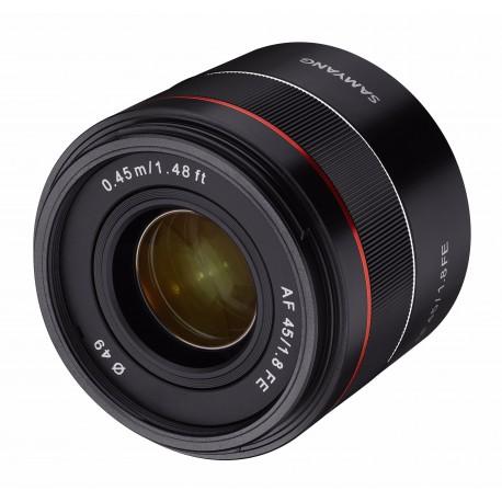 Objektīvi - SAMYANG AF 45mm f/1.8 FE Sony E-Mount APS-C - perc šodien veikalā un ar piegādi