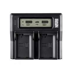 Lādētāji - Newell DC-LCD two-channel charger for NP-FW series batteries - быстрый заказ от производителя