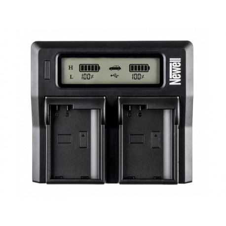 Chargers for Camera Batteries - Newell DC-LCD two-channel charger for NP-FW series batteries - quick order from manufacturer