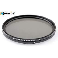 ND neitrāla blīvuma filtri - Commlite Fader ND Filter variable - 58 mm - perc šodien veikalā un ar piegādi
