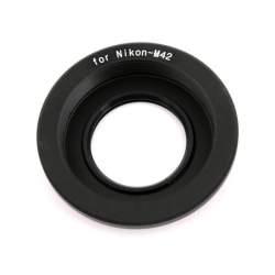 Objektīvu adapteri - JJC Kiwifotos Adapter LMA-M42_NK (O) - M42 / Nikon F with infinity - perc šodien veikalā un ar piegādi