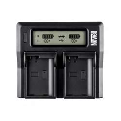 Chargers for Camera Batteries - Newell DC-LCD two-channel charger for NP-F, NP-FM series batteries - buy today in store and with delivery