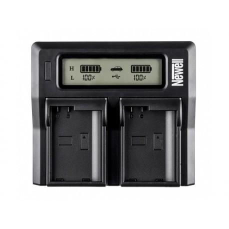 Kameras bateriju lādētāji - Newell DC-LCD two-channel charger for NP-F, NP-FM series batteries - perc šodien veikalā un ar piegādi