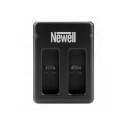 Kameras bateriju lādētāji - Newell SDC-USB two-channel charger for AABAT-001 batteries GoPro 5, 6, 7, 8 - perc šodien veikalā un ar piegādi